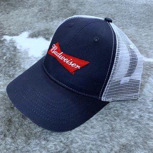 Budweiser Trucker Style SnapBack Hat